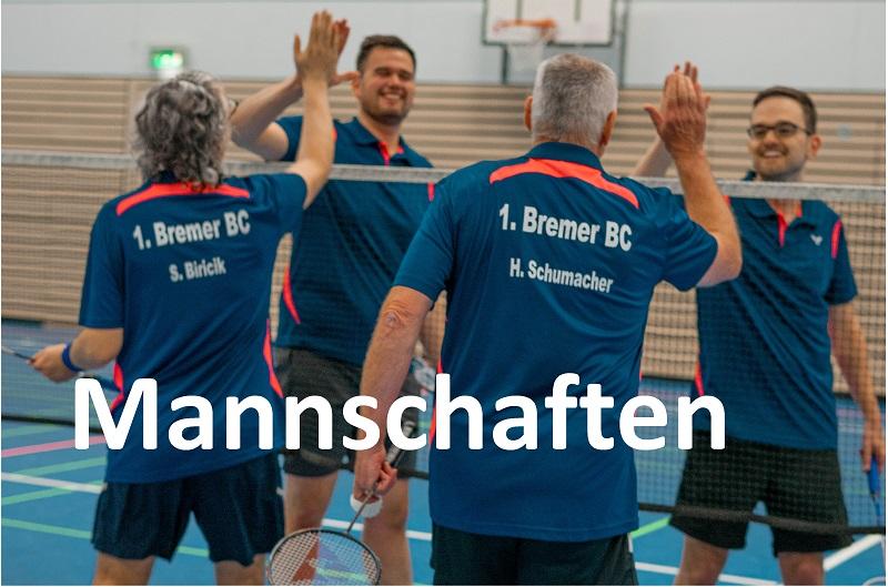 1. BBC - Badminton-Mannschaften