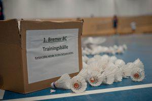 Kein Trainingsbetrieb des 1. Bremer Badminton Clubs in der Julius Brecht Oberschule!